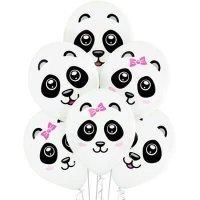 Шары с рисунком Панда, ассорти 36см