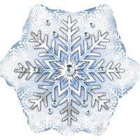 Фигура из Фольги «Снежинка» (51см.)
