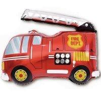 Шар (32''/81 см) Фигура, Пожарная машина