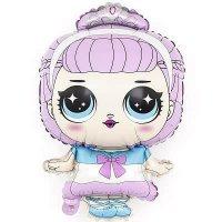 Шар (31''/79 см) Фигура, Модная кукла (маленькая принцесса)