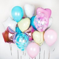 Композиция из воздушных шаров «Лёгкое настроение» №163