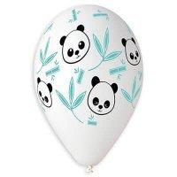 Латексные шарики Панда и бамбуковые стебли 36см