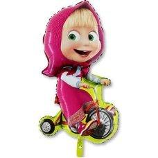 Фигура Маша на велосипеде 99см
