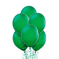 Воздушный шар Зеленый, металлик.