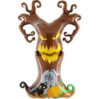Воздушный шар с гелием фигура жуткое дерево, хэллоуин 155см