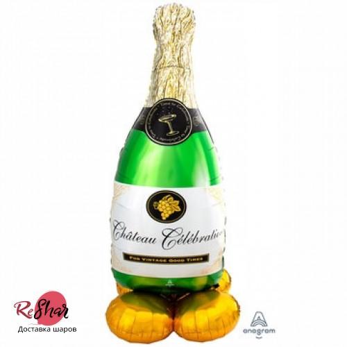 Воздушный шар Шампанское 157см, ходячка