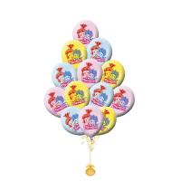 Воздушные шары с гелием с рисунком «Фиксики»