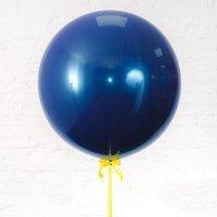 Шар гигант «№18» Синий 61см