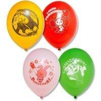 Латексные шары союзмультфильм, простоквашино, карлсон 30см