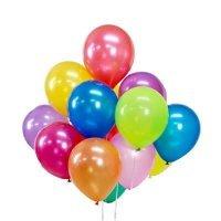Воздушные шары под потолок «Ассорти» Металлик