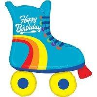 Фигура Happy Birthday ролики, с днём рождения 99см