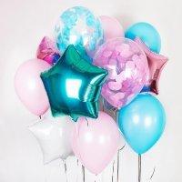 Композиция из воздушных шаров «Мягкость» №18