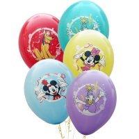 Воздушные шары с гелием с рисунком «Микки и его друзья»