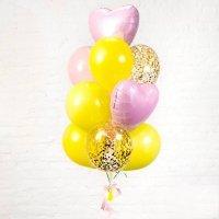 Композиция из воздушных шаров «Женское настроение» №80