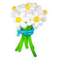 Букет цветов из шариков «Ромашки»