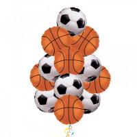 Фонтан из шаров для Спортивные игры