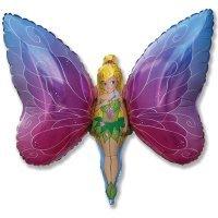 Фигура из Фольги «Леди Бабочка» (97см.)