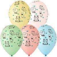 Воздушные шары с гелием животные, ферма, 36см