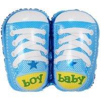 Фигура из Фольги «Ботиночки для мальчика» (74см.)