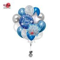Композиция из воздушных шаров С Новым Годом №2023