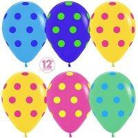 Воздушные шары с гелием с рисунком «Гороховое ассорти»