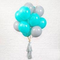 Облако из шаров на день рождения для мальчика