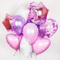 Композиция из воздушных шаров «Ассорти для девочки» №159