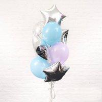 Композиция из воздушных шаров «Для него» №86