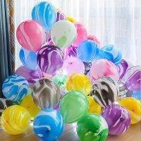 Воздушные шарики под потолок Агат