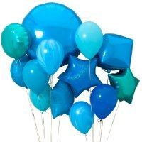 Композиция из воздушных шаров «Синева» №146