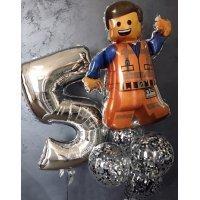 Композиция из шаров LEGO Эммет, №591