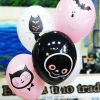 Воздушные шары с гелием Happy Halloween хэллоуин гламур №2, 36см