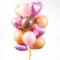 Композиция из воздушных шаров «Женская радость» №79