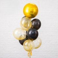 Композиция из воздушных шаров «Золотая планета» №97