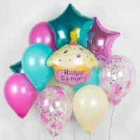Композиция из шаров «Милый день рождения» №195