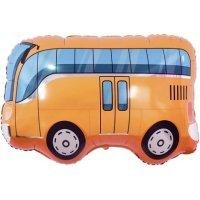 Шар (34''/86 см) Фигура, Автобус, Оранжевый