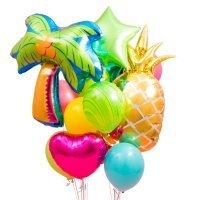 Композиция из воздушных шаров «Баунти» №31