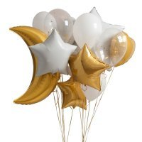 Композиция из воздушных шаров «Звёздный путь» №137