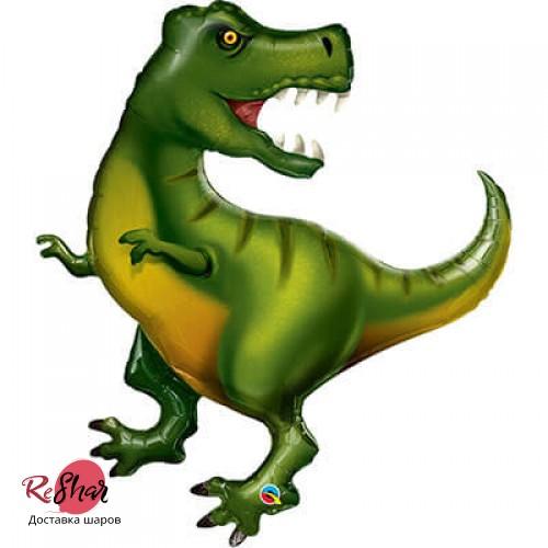 Фольгированный шар с гелием фигура Динозавр Тираннозавр 107см