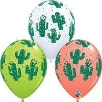 Воздушные шары с гелием Кактус 36см