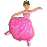 Фигура из Фольги «Балерина» (102см.)