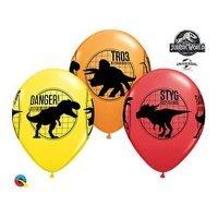 Шар с рисунком Динозавры Парк Юрского Периода 30см