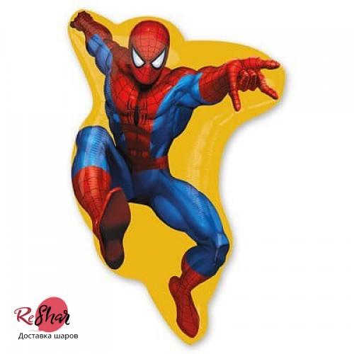 Воздушный шар Человек паук, фигура 84см