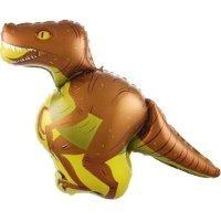 Шар (41''/104 см) Фигура, Динозавр Велоцираптор