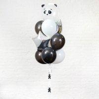 Композиция из воздушных шаров «Панда» №60