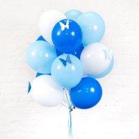 Облако из шаров на день рождения «Для мальчика с бабочкой»