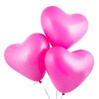 Латексный шар-сердце Фуше