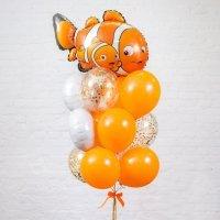 Композиция из воздушных шаров «Немо» №43