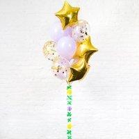 Композиция из воздушных шаров «Звёздное конфетти» №59