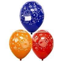 Воздушные шары с гелием винни пух и все все все 36см